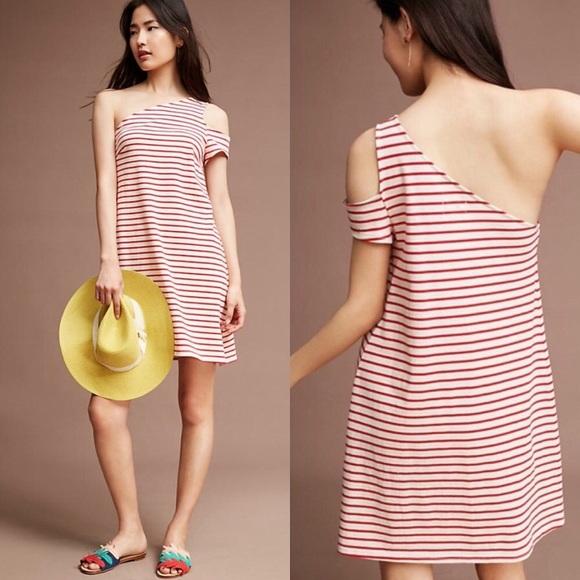 815cc86ecf560 Anthropologie Dresses & Skirts - Flash sale! Maeve one shoulder dress  Anthropologie